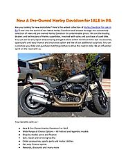 New & Pre-Owned Harley Davidson for SALE in PA | Hot Metal Harley-Davidson