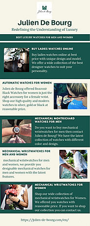 Best Watches for Women - Julien de Bourg