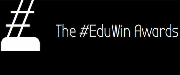 Headline for The Top #EduWin!