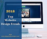 Top Website Design Trends for 2018 – Aliqan Technologies – Medium