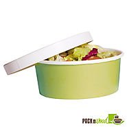 Disposable and Biodegradable Soup Containers at PacknWood.com Store