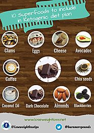 10 Superfoods to include in Ketogenic diet plan | Lose Weight Loss