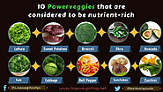 Powerveggies that are considered to be nutrient rich | Lose Weight Loss