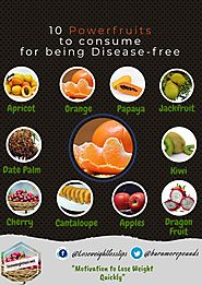 10 Powerfruits to consume for being disease-free (Part 2)