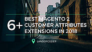 6+ Best Magento 2 Customer Attributes Extensions in 2018