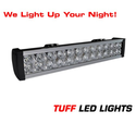 "Tuff LED Lights Off Road 4x4 Jeep 20"" Inch LED Light Bar - 72 Watt - 4000 Lumen Better Then Rigid E Series Polaris Ra..."