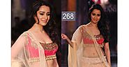 latest indian celebrities: Images of Shraddha Kapoor in saree