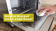 Tips to clean an oven