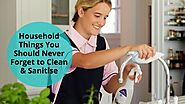 How to Clean Overlooked Items in the Home