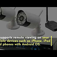 Wireless Security Camera Systems Dubai | Visual.ly