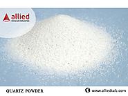 Exporter of Quartz Powder in India Allied Mineral Industries