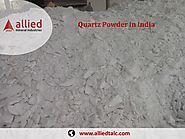 Exporter of Quartz Powder in India Supplier of Quart Allied Mineral Industries