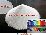 Quartz Powder for Plastic Industry Allied Mineral Industries Supplier