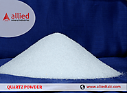 Exporter of Quartz Powder in India Allied Mineral Industries Manufacturer