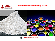 Dolomite for Paint Industry in India