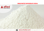 Dolomite Powder Manufacturer in India Supplier of Dolomite Allied Mineral Industries