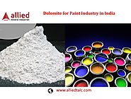 Dolomite Powder for Paint Industry in India Exporter of Dolomite Allied Mineral Industries