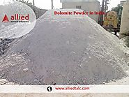Dolomite Powder in India Allied Mineral Industries Supplier of Dolomite
