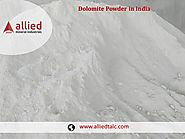 Supplier of Dolomite Powder in India Allied Mineral Industries Exporter of DolomiteSupplier of Dolomite Powder in Ind...