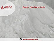Exporter of Quartz Powder in India Manufacturer Allied Mineral Industries