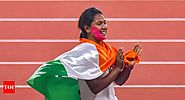 Swapna Barman: Swapna Barman, Arpinder Singh ensure another 'golden' day for India | Asian Games 2018 News - Times of...