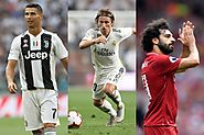 Ronaldo, Salah, Modric make FIFA shortlist, Messi misses out | Soccer News – India TV