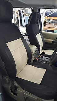 Easy-to-fit Luxury Seat Protection