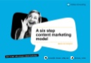 A six step content marketing model