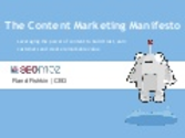 The Content Marketing Manifesto