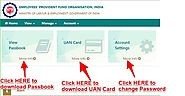 Steps to Download EPF UAN Passbook - All About Investment and Finance