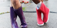 The Cutest Ways To Wear Rain Boots