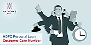 HDFC Personal Loan Customer Care Number - Antworks Money