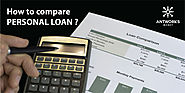 Tips & Guides to Compare Personal Loan - Antwroks Money