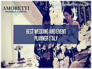 Wedding Planners London | Destination Wedding in Italy
