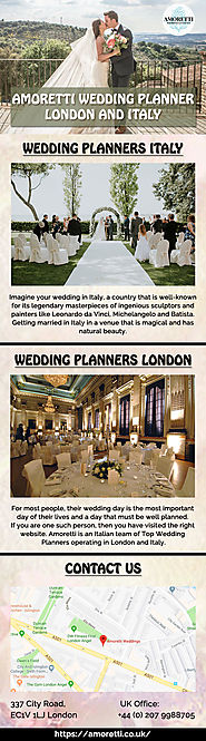 Wedding Planners London & Italy - Amoretti
