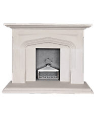 Natural Stone Fireplaces Surround | Stone Fire Surrounds For Wood Burners
