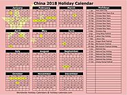 Know the key dates of the Chinese Holiday Calendar.