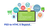 Psd to html bootstrap responsive conversion for your small business