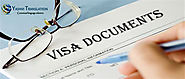 Hire Experienced Visa Document Translation Services In Chennai