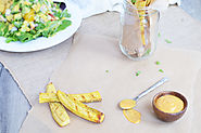 Grilled Plantain Fries - Living Loving Paleo