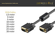 Buy 3+6 Gold Plated VGA Cable Online at Best Price