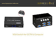Best VGA Switcher | Buy VGA Switcher Online | VGA Switch Selector Box