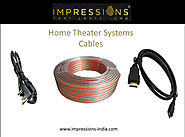 Buy Home Theater Systems Cables Online at Best Price