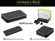 Buy HDMI Splitter Online at Best Prices - Impressions-india.com