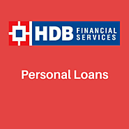 Why personal loans are the best option for financing: hdbfs