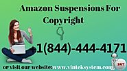 Amazon Seller Account Suspension copyright issues