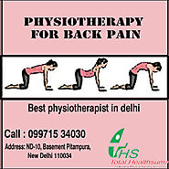Physiotherapy for Back Pain in Delhi