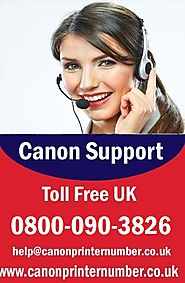 Canon Printer Phone Number UK Customer Service
