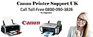 Canon Printer Support Number UK