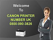 Canon Printer Support Number UK 0800-090-3826 Canon Printer Helpline UK